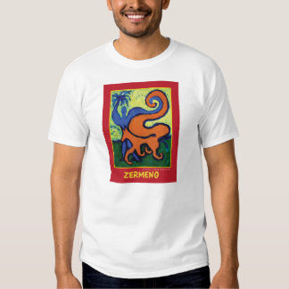 """""""The Circus Boy"""" on red by Zermeno T-Shirt"""