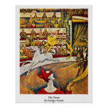 The Circus By Georges Seurat Print