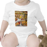 The Circus By Seurat Georges Baby Bodysuits