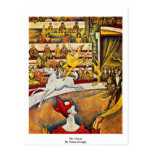 The Circus By Seurat Georges Post Card