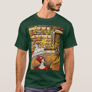 The Circus By Seurat Georges T-Shirt