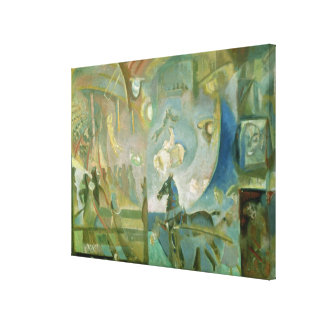 The Circus, c.1910 Gallery Wrap Canvas
