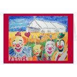 The Circus Card Card