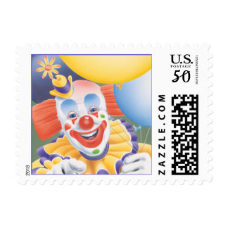 The Circus Clown © Postage