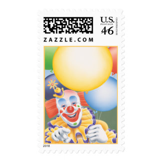 The Circus Clown  © Postage Stamps