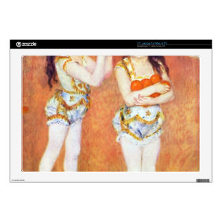 """The circus Fernando by Pierre Renoir Decal For 17"""" Laptop"""