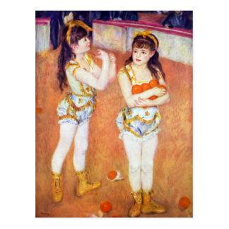 The circus Fernando by Pierre Renoir Postcard