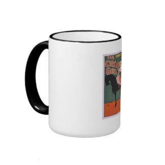 The Circus Girl 1897 mug