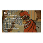 The Circus Girl, 'A.H.Canby' Vintage Theater Business Card