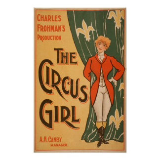 The Circus Girl Theatrical Poster #1