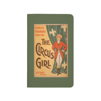 The Circus Girl Theatrical Poster #1 Journal