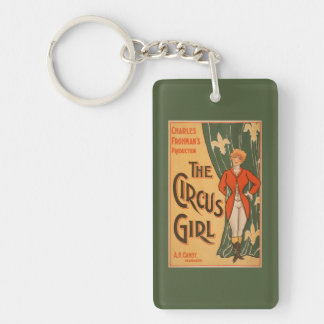 The Circus Girl Theatrical Poster #1 Keychain