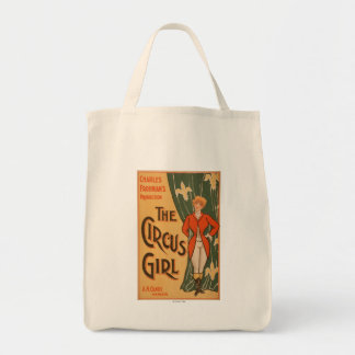 The Circus Girl Theatrical Poster #1 Tote Bag