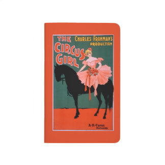 The Circus Girl - Woman on Horse Theatrical Journal