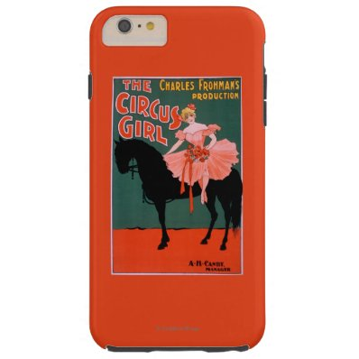 The Circus Girl - Woman on Horse Theatrical Tough iPhone 6 Plus Case