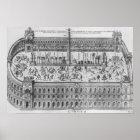 The Circus Maximus in Rome, c.1600 Poster
