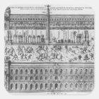 The Circus Maximus in Rome, c.1600 Square Sticker
