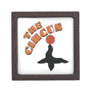 The Circus Seal Premium Trinket Boxes