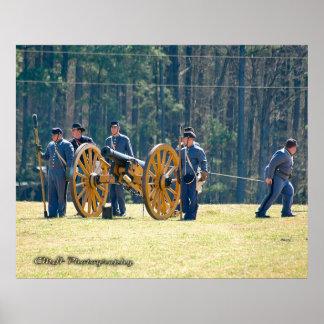 The Citadel Artillery Unit Poster