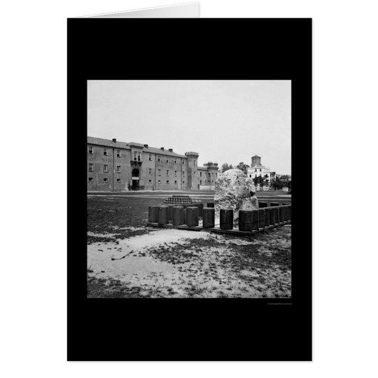 The Citadel in Charleston, SC 1865 Card