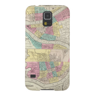 The Cities Of Pittsburgh Allegheny Cincinnati Case For Galaxy S5