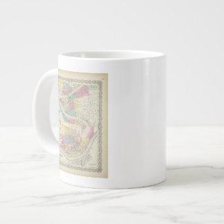 The Cities Of Pittsburgh Allegheny Cincinnati Giant Coffee Mug