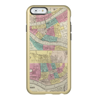 The Cities Of Pittsburgh Allegheny Cincinnati Incipio Feather Shine iPhone 6 Case