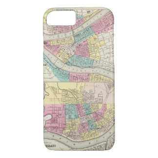 The Cities Of Pittsburgh Allegheny Cincinnati iPhone 7 Case