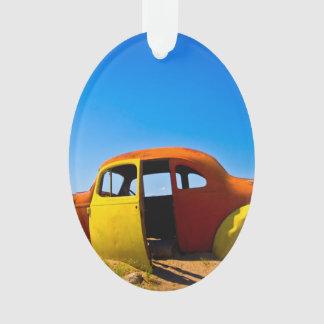 The Citrus Car a Vintage 1936 Hudson Orange Yellow Ornament
