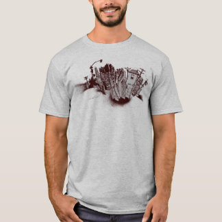 the city and spray paint T-Shirt
