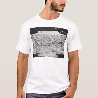 The city and the village of Carcassonne, 1462 T-Shirt
