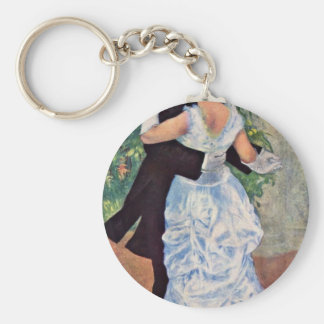 """The City Dance, English, """"Dance In The City"""" Keychains"""