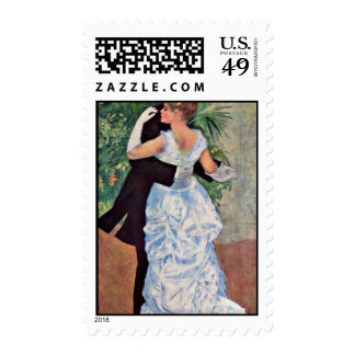 "The City Dance, English, ""Dance In The City"" Postage Stamps"