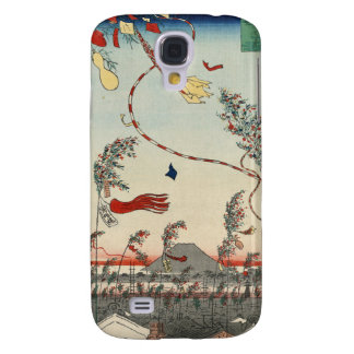 The City Flourishing, Tanabata Festival. Samsung Galaxy S4 Cover