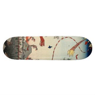 The City Flourishing, Tanabata Festival. Skateboard