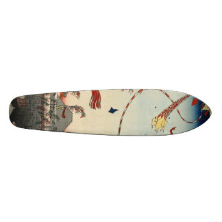 The City Flourishing, Tanabata Festival. Skate Deck