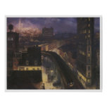 The city from Greenwich Village, John Sloan Posters