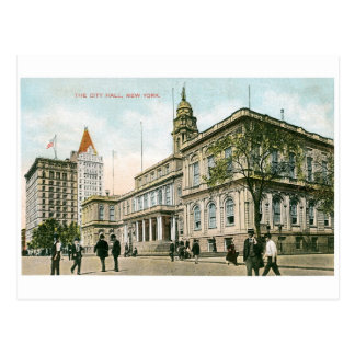 """The City Hall"" New York Postcard"