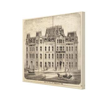The City Hall of Minneapolis, Minnesota Canvas Print