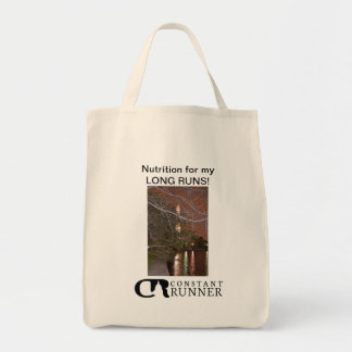 THE CITY I RUN IN Series - Grocery Bag