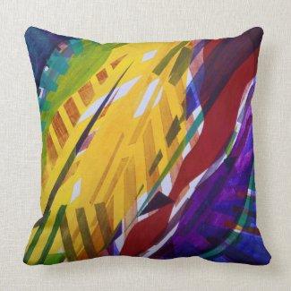 The City II - Abstract Rainbow Streams