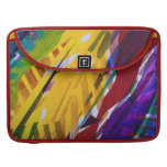 The City II - Abstract Rainbow Streams Sleeves For MacBook Pro