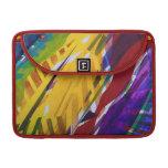 The City II - Abstract Rainbow Streams MacBook Pro Sleeves