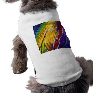 The City II, Abstract Rainbow Streams Shirt