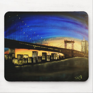 The city mouse pad