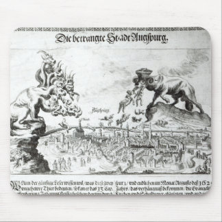 The City of Augsburg forced to accept Catholic Mouse Pad