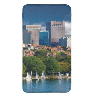 The city of Boston and Charles river Galaxy S5 Pouch