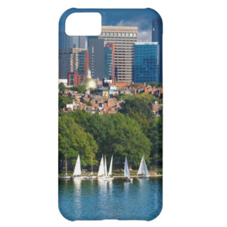 The city of Boston and Charles river Cover For iPhone 5C