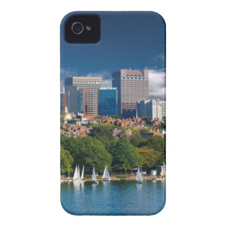 The city of Boston and Charles river iPhone 4 Case