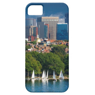 The city of Boston and Charles river iPhone SE/5/5s Case